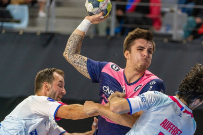 Coupe de la Ligue. CRMHB / Strasbourg : 27-28