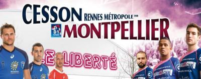 CESSON/MONTPELLIER AU LIBERTÉ