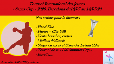 TOURNOI INTERNATIONAL DES JEUNES
