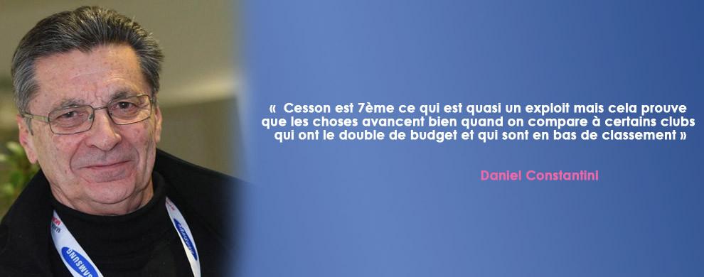 INTERVIEW DE DANIEL CONSTANTINI