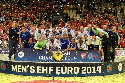 LES BLEUS CHAMPIONS D'EUROPE